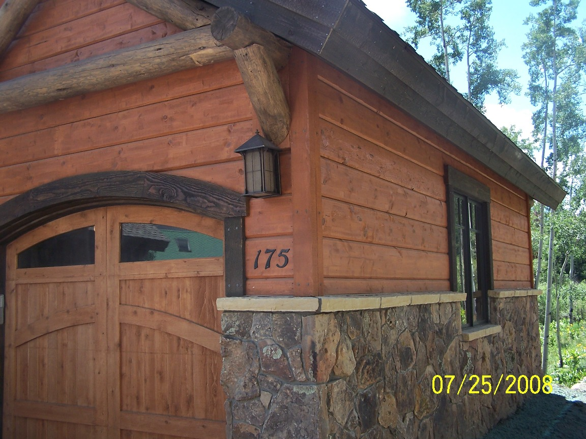Log Siding Action Log Homes