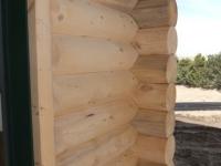 True Log Siding Corners